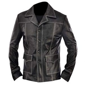 black fight club jacket