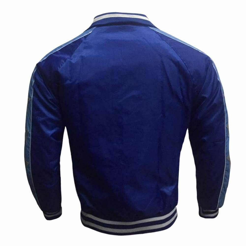 captain boomerang bomber jacket back side