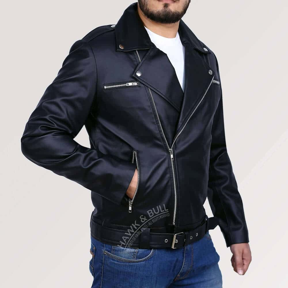 walking dead negan leather jacket