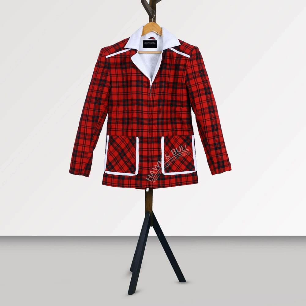 deadpool shearling jacket