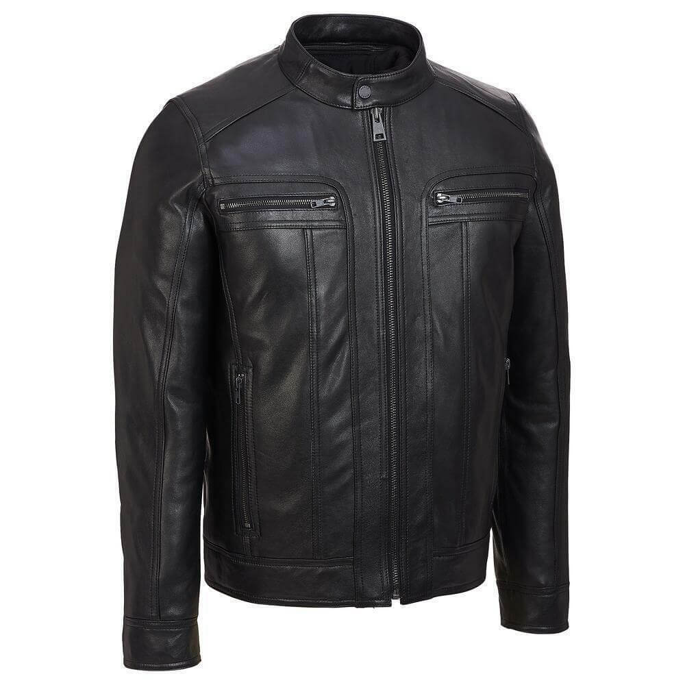 black jacket with removable hood