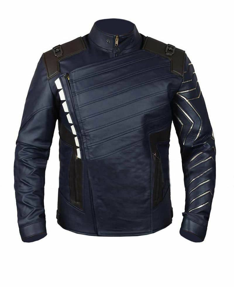 bucky barnes jacket front side