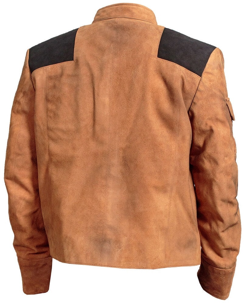 star wars han solo jacket back side