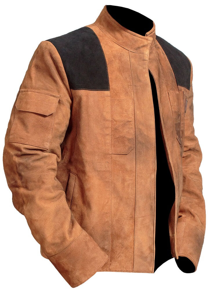 star wars han solo jacket left side
