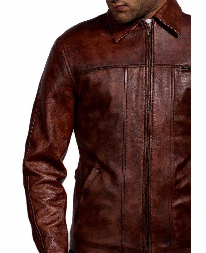 inception leather jacket