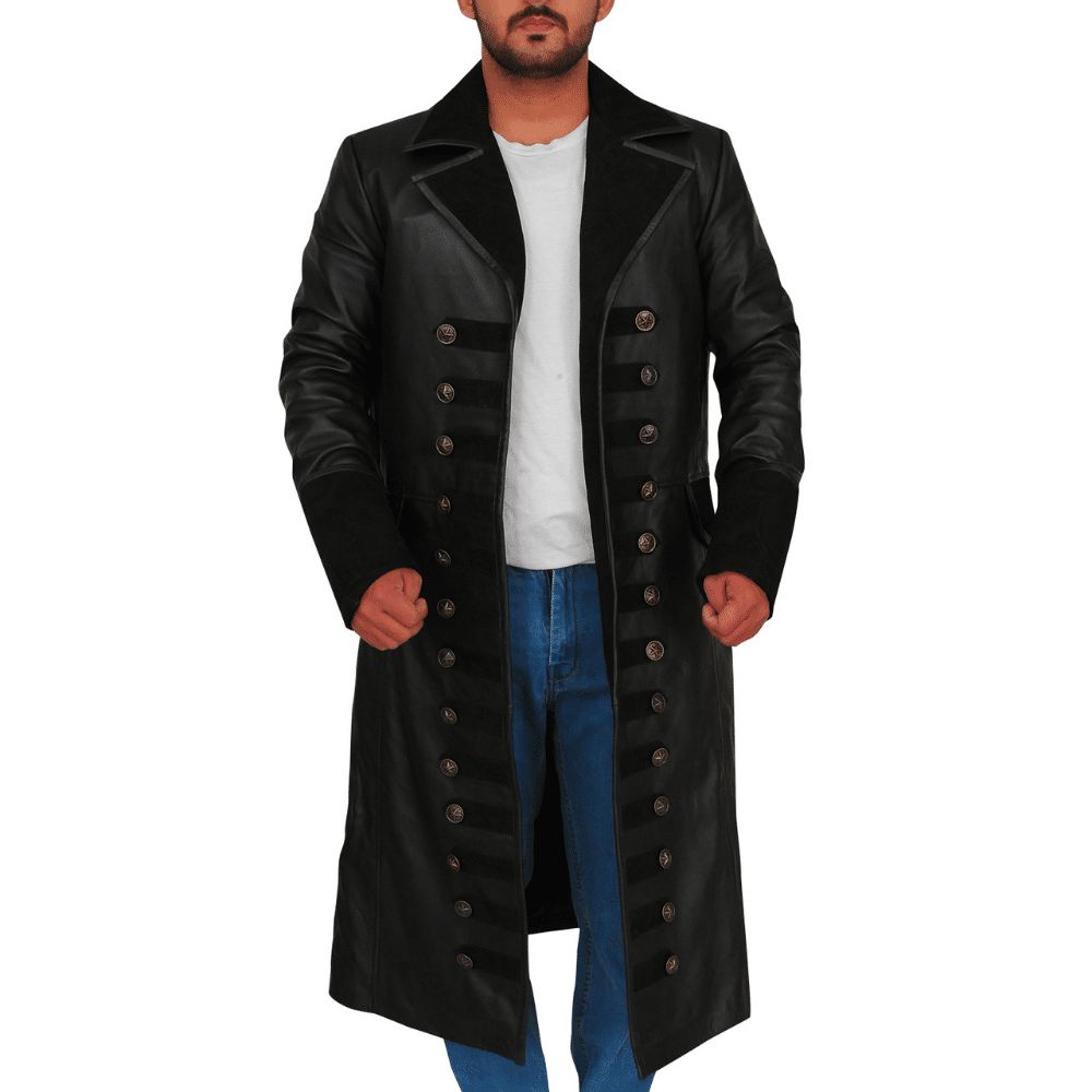 captain hook jacket once upon a time